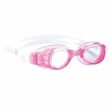 Anti chloor zwembril roze voor meisjes