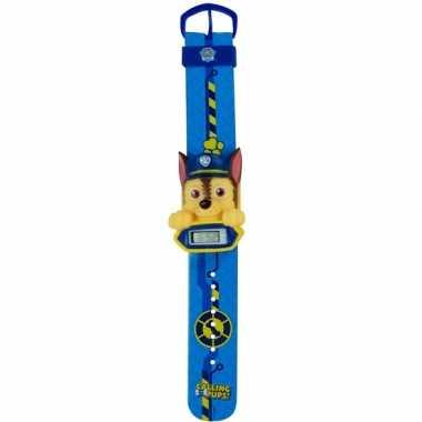 Blauw paw patrol digitaal horloge chase voor /meisjes