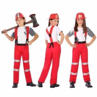 Brandweer pak / verkleed kostuum voor en meisjes