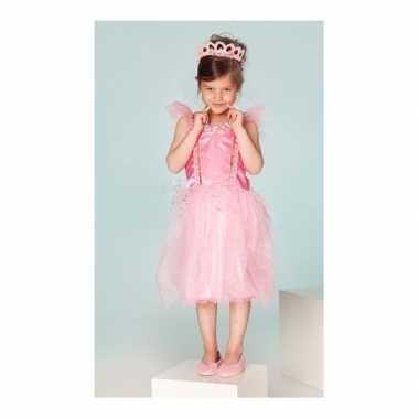 Carnaval verkleedkleding prinses fuchsia meisjes