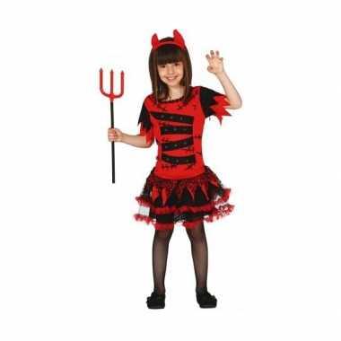 Carnavalskleding duivel voor meisjes
