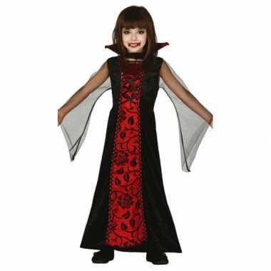 Carnavalskleding vampieren jurk meisjes