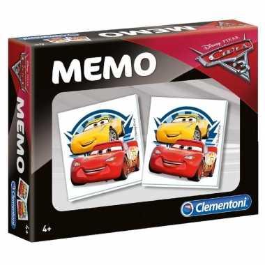 Cars memory spel voor en meisjes