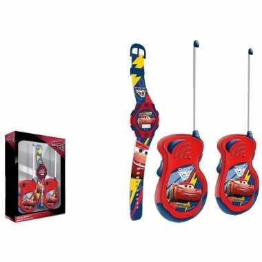 Cars walkie talkie speelgoed set voor en meisjes