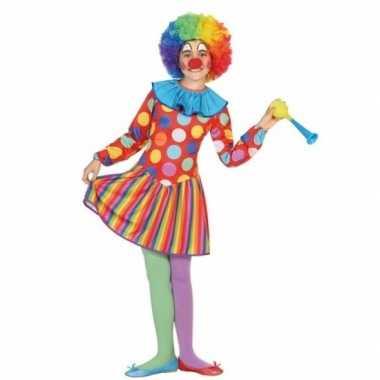 Clown dotty kostuum voor meisjes