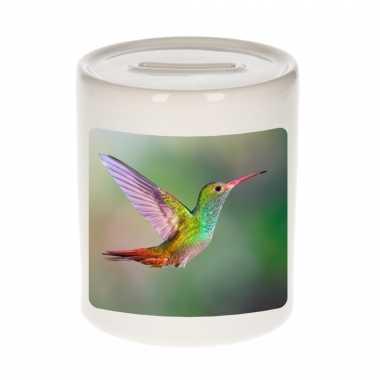 Dieren foto spaarpot kolibrie vogel 9 cm vogels spaarpotten en meisjes