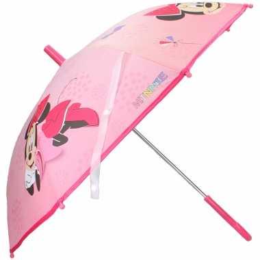 Disney minnie mouse kinderparaplu voor meisjes 71 cm