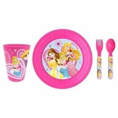 Disney prinsessen ontbijtservies voor meisjes