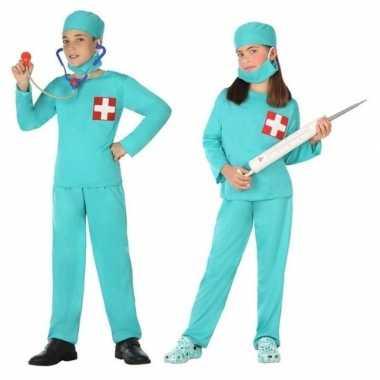 Dokter/chirurg verkleed kostuum voor en meisjes