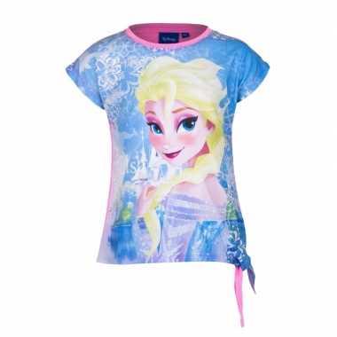 Elsa t shirt roze voor meisjes