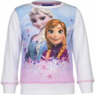 Frozen trui wit voor meisjes