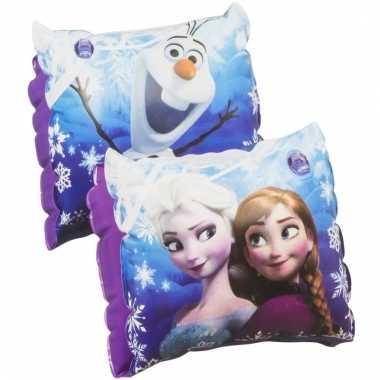 Frozen zwembandjes paars voor meisjes