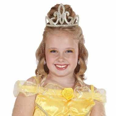 Gouden tiara voor meisjes