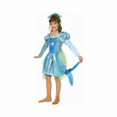 Groen zeemeermin kostuum voor meisjes