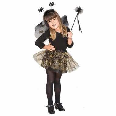 Heksenset zwarte spin voor meisjes