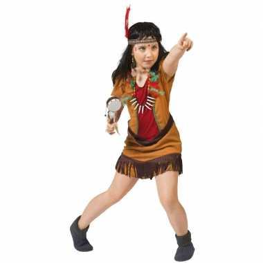 Indianen verkleed jurkje voor meisjes