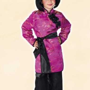 Japanse geisha meisjes kostuum