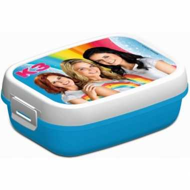 Kado voor meisjes k3 lunchtrommel