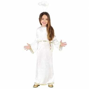 Kerst engel sariel verkleed kostuum jurk voor meisjes