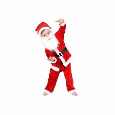Kerstman outfit voor jongens en meisjes
