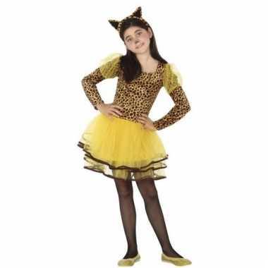 Luipaard cleo kostuum voor meisjes