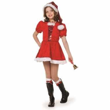 Luxe kerst jurk voor meisjes