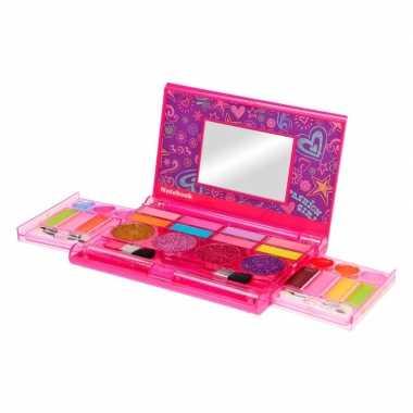 Make up set in roze doosje voor meisjes