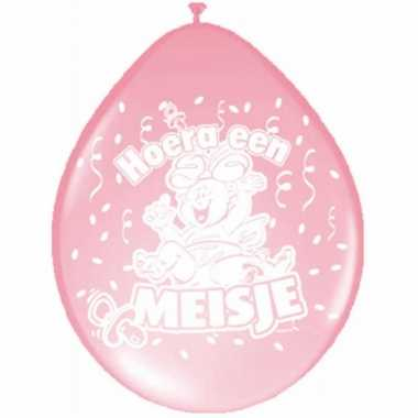 Meisjes ballonnen geboorte meisje