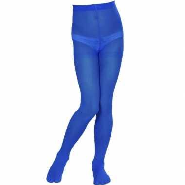Meisjes blauw gekleurde panty voor kids