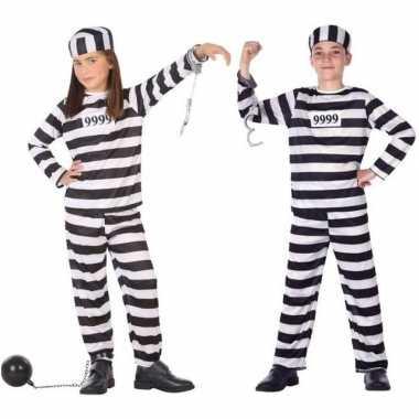 Meisjes boef/boeven verkleed pak/kostuum voor kinderen