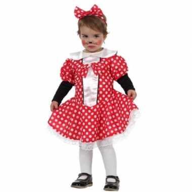 Meisjes carnaval muizen meisje kostuum peuters