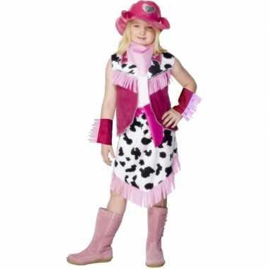 Meisjes cowgirl jurkje voor meiden