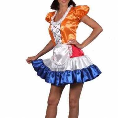 Meisjes dames hollands meisje jurk