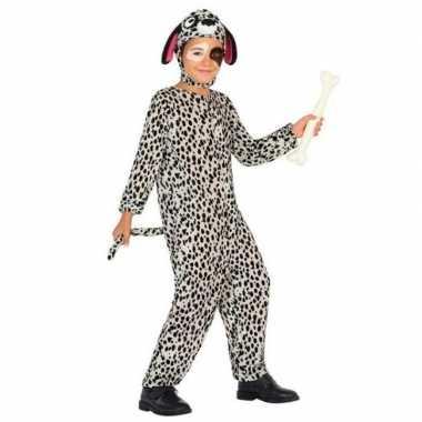 Meisjes dierenpak hond/honden verkleed kostuum dalmatier voor kindere