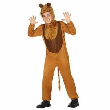 Meisjes dierenpak leeuw/leeuwen verkleed kostuum voor kinderen