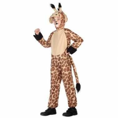 Meisjes dierenpak verkleed kostuum giraffe voor kinderen