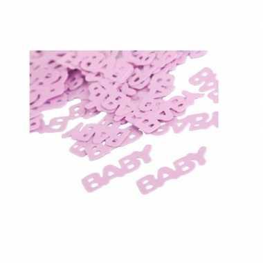 Meisjes geboorte meisje baby confetti