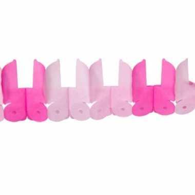 Meisjes geboorte slinger meisje roze