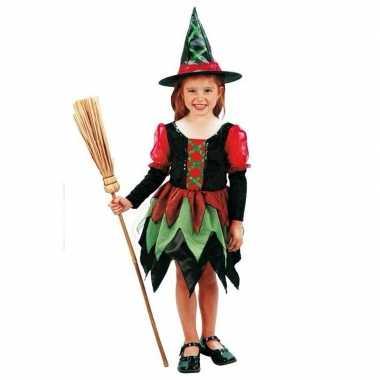 Meisjes heksen carnavalskleding meisje