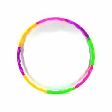Meisjes hula hoop gekleurd 52 cm