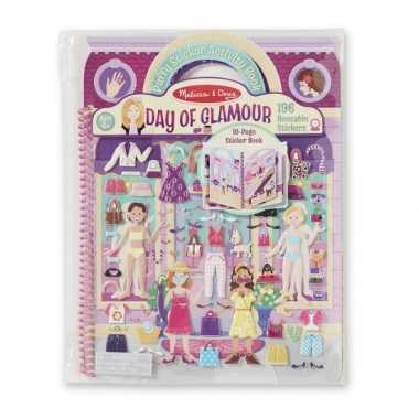 Meisjes kinder activiteiten boek glamour
