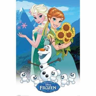 Meisjes kinderkamer poster frozen