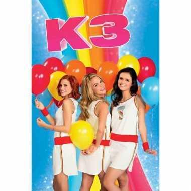 Meisjes kinderkamer poster k3
