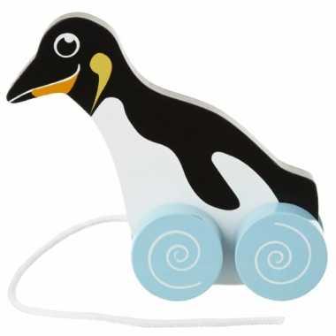 Meisjes pinguins trekdiertje