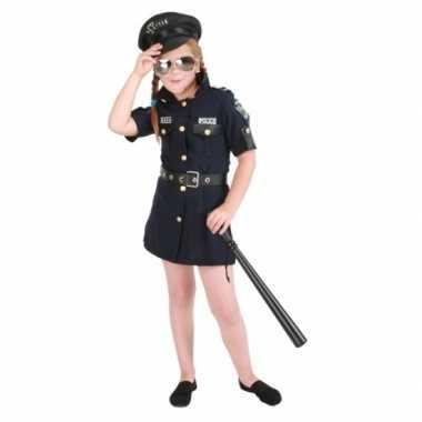 Meisjes politie jurk kostuum