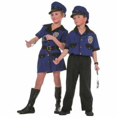 Meisjes politie verkleedkleding voor meiden