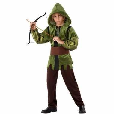 Meisjes robin hood verkleed kostuum 3 delig voor kinderen