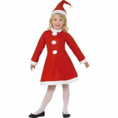 Meisjes rood kerst kostuum meiden