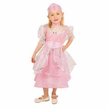 Meisjes roze prinsessenjurk kinderen