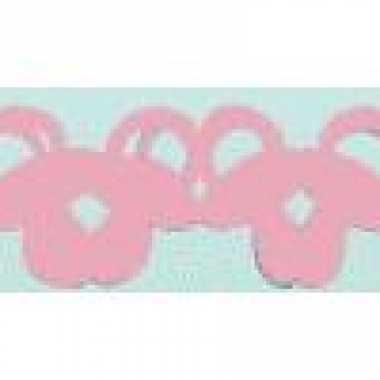 Meisjes roze speen slinger